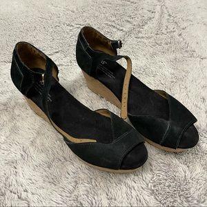 Toms Cork  Wedge Sandals